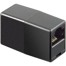 ISDN-/DSL-/LAN-Adapter RJ45-Buchse (8P8C) auf RJ45-Buchse (8P8C) ungeschirmt