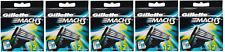 Gillette Mach3 Refill Razor Blade Cartridges - 12 Cartridges (5 Pack)