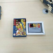 Super Bomberman 1 - Super Nintendo SNES PAL/EUR Game Card & Box