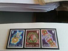 JERSEY 1986 SG 402-404 CHRISTMAS.MNH