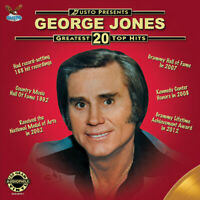 George Jones - Greatest 20 Top Hits [New Vinyl LP] With DVD, Digipack Packaging
