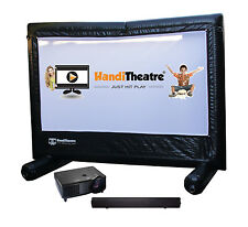 HandiTheatre Outdoor Home Cinema / Backyard Theatre. Watch movies, play games