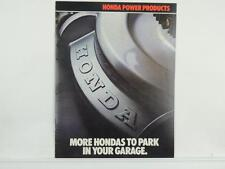 Vintage 1982 Honda Power Products Motorcycle Brochure Generators Mowers L3043