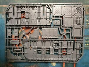 Sector frontiers sprue B. Sector Mechanicus 40k Kill Team terrain.