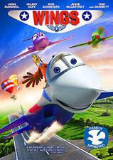 Wings (DVD, 2013) WIDESCREEN BRAND NEW! ORIGINAL SHRINKWRAP *BONUS VUDU MOVIE