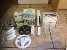 nintendo wii console bundle Games  2 Controllers We Sing