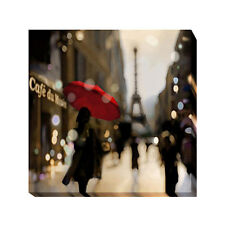 A Paris Stroll by Kate Carrigan Gallery-Wrapped Canvas Giclee Art