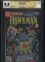 Showcase #103 CGC 9.4 SS Joe Kubert 1978 HAWKMAN