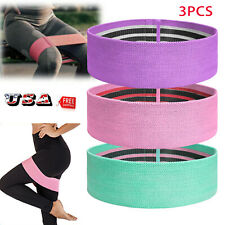 Fabric Resistance Bands Loop Yoga Pull Up Exercise Fitness Strength Training Gym