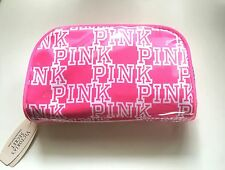 VICTORIA'S SECRET PINK COSMETIC CASE MAKE UP BAG TECH ORGANIZER NWT