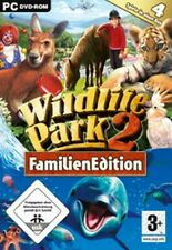 WILDLIFE PARK 2 + CRAZY ZOO + MARINE WORLD + RANCH familien Edition SG