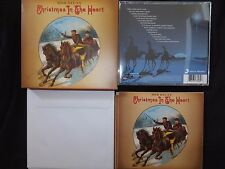 RARE COFFRET CD BOB DYLAN / CHRISTMAS IN THE HEART / AVEC ENVELOPPES ET CARTES /