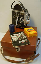 CAMERA PAILLARD BOLEX H 16 Suprème -16 mm -1954 - N° 99740 + valisette+notice