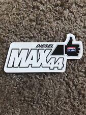 Vintage CYCLO LOGO STICKER DECAL Gas & Oil RACING Tool Box Diesel Max 44