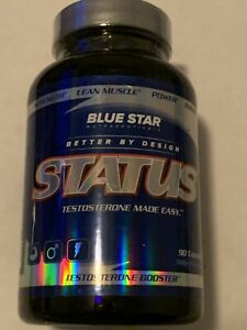 Blue Star STATUS Ultra Hardcore Test Booster Lean Muscle, 90 Capsules - 02/2022