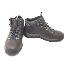 Timberland Hiking Brown Leather Outdoor Shoes Boots Leather 81694 SZ 8.5 B6A