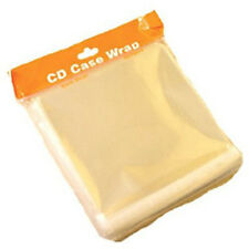 Clear 10.2mm Jewel CD Case Wrapping Sleeve Wraps - 200 PACK