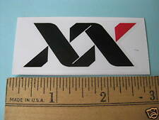 SRAM XX RACE MTB BIKE BICYCLE FRAME Med STICKER DECAL
