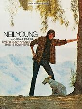 Neil Young Everybody Knows This Is Nowhere Sheet Music Guitar Tablatur 000691019