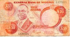 NIGERIA 10 N état voir scan 021