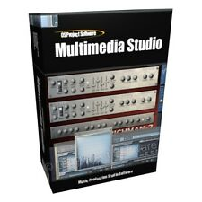 Multimedia Music Production Studio Audio Sequencer Synthesizer Software Program