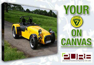 YOUR CATERHAM R500 R400 R300 Seven 7 On CANVAS