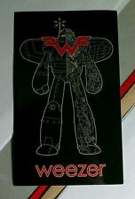 Weezer Wf Robot Wings Black Red Band Name Board Case Music Sticker