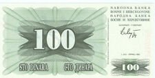Bosnia and Herzegovina 100 Dinara 1992 Checkout fresh P.13a