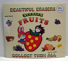 Fruit Scented Erasers Gumball Vending Machine Toy Sign