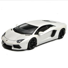 Welly 1:18 Lamborghini Aventador LP700-4 Racing Diecast Model Car White IN BOX