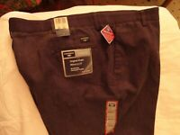 DOCKERS Men's Classic Fit Original Khaki Pants  Dark Gray Size- (44 x 30) NWT