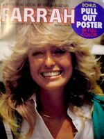 Farrah Fawcett Magazine 1977 Star Personality Poster Charlie's Angels EX+ COA