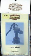 Miniature Dollhouse Chrysnbon Kit / Small Sink Pump 2201