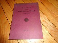 Annual Report Board of Education Chicago 1939 School History High School