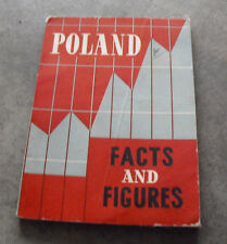 Vintage 1958 Booklet Poland Facts and Figures