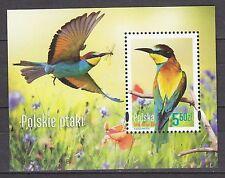 POLAND 2014 **MNH SC# ( )  S/S  - The Polish Birds