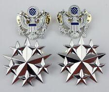 SET US AIR FORCE SIX STAR RANK INSIGNIA BADGE PIN EAGLE BADGE
