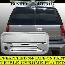 1995-1999 CHEVROLET TAHOE Chrome Tailgate Handle Cover Overlay Trim Cap W/KH