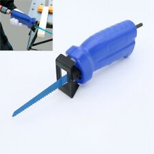 Reciprocating Saw with 3 Blades Electric Drill for Metal Wood Cutting Power Tool