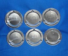 Lot of 6 McDonalds Unused New Old Stock Ashtrays