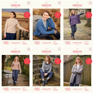 Sirdar Haworth Tweed Patterns for women   OUR PRICE £2.90