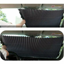 New Car Retractable Curtain With UV Protection Front Windshield Visor AU STOCK