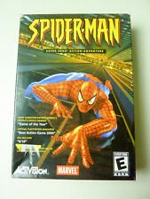 Spider-Man Video Game (PC, 2002) Sealed Jewel Case and Big Box