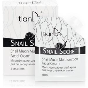 TianDe Anti Wrinkle Snail Mucin Multifunction Facial Cream 1x10ml