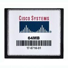 Cisco 64MB Standard CompactFlash - LOT OF 5
