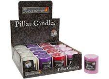 Unscented Pillar Candles & Tea Lights