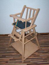 Alter Kinderhochstuhl, Kinderstuhl, Holz Kinder Stuhl Hochstuhl Spieltisch