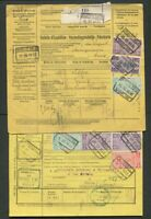 Belgium Collection Used CV$375.00 Parcel Post On Parcel Cards