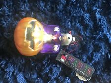 Snoopy with jackolantern Polonaise ornament Kurt Adler