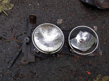 1963 Ford Fairlane 500 Headlight Dish Assy. LH Bracket Bucket Wiring Fender Hi